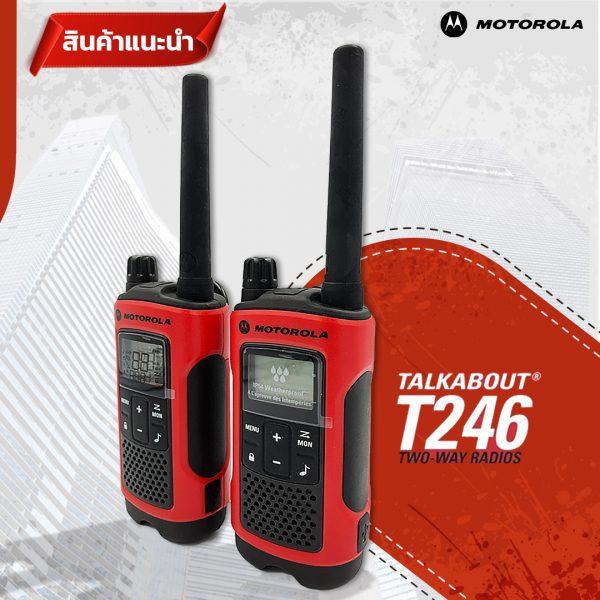 Motorola Talkabout T246 - 01